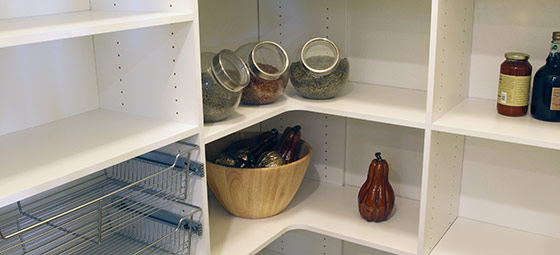 create the perfect kitchen pantry - Kitchen Pantries