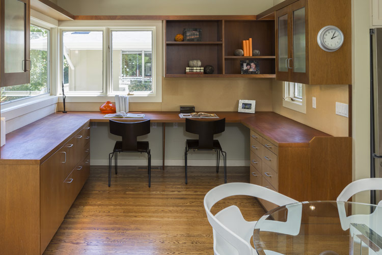 Get Organized with a Dedicated Kitchen Workstation | Mission Kitchen ...