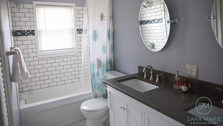 Sara Marie Photography Bathroom Remodel